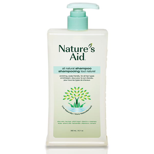Nature's Aid All-Natural Shampoo 300ml