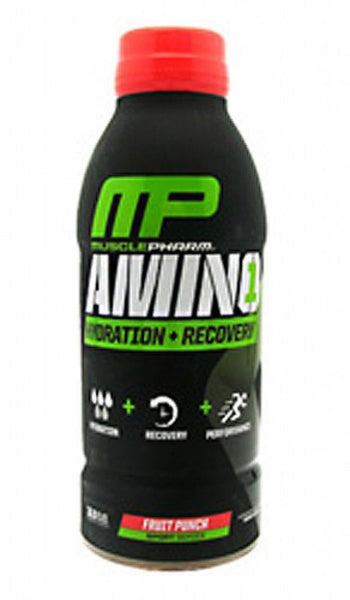 MusclePharm Amino1 Fruit Punch Sports Drink 500ml