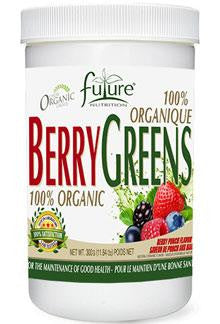 FUTURE NUTRITION BERRY GREENS 300G