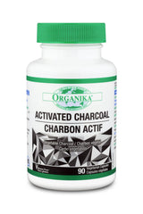 Organika Activated Charcoal 90 Caps
