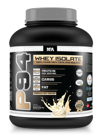NFA Whey Isolate Vanilla Ice Cream 5lbs
