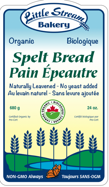 Little Stream Bakery Whole Spelt 680G