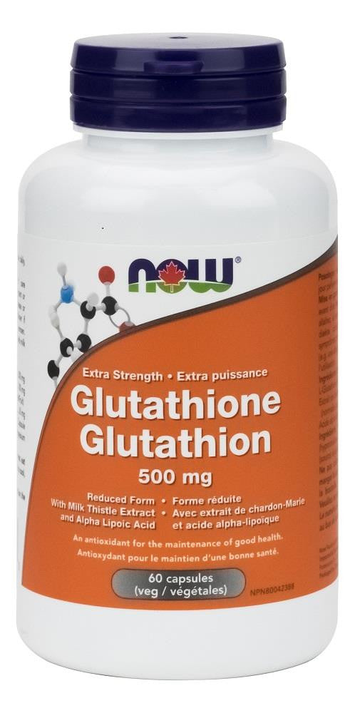 NOW Glutathione 500mg 60caps