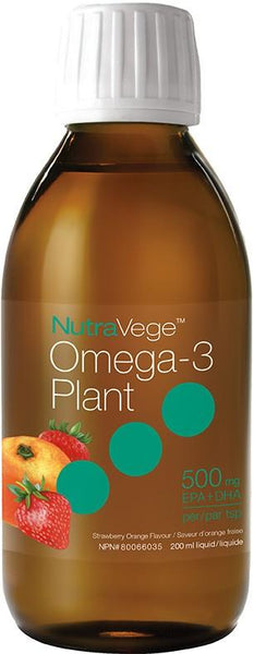 Ascenta NutraVege Omega-3 Orange Strawberry 500mg