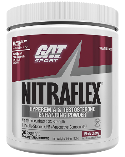 GAT NitraFlex Pre-Workout Black Cherry 300g