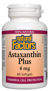 Natural Factor Astaxantin Plus 60SG