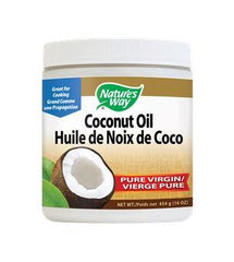 Nature's Way Coconut Oil Organic Pure Virgin 454g
