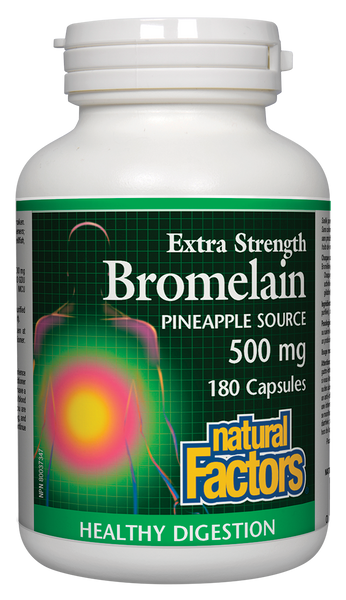 Natural Factors Extra Strength Bromelain 180Cap