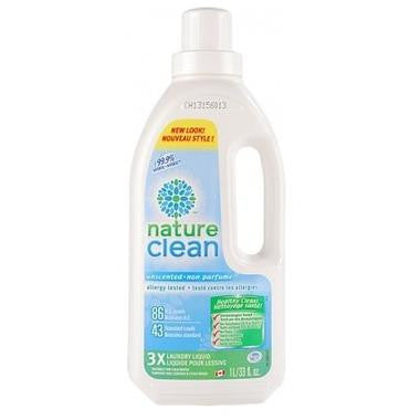 Nature Clean 3X Concentrate Laundry Liquid 1L
