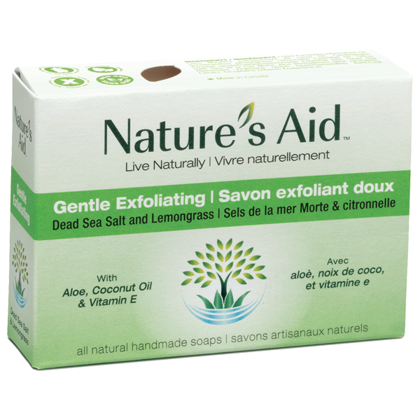 Nature's Aid Healthy Exfoliating Soap