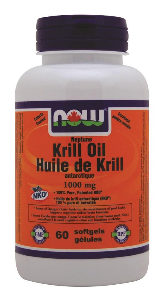 NOW Krill Oil 1000MG 60sg