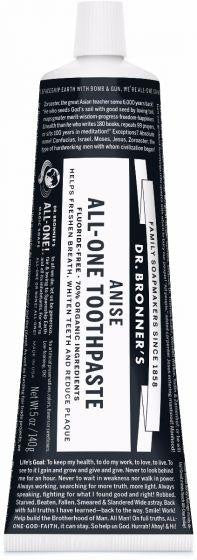 Dr. Bonner Anise All-One Toothpaste 148ml