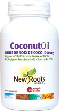 New Roots Coconut Oil 120Softgels