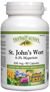 NATURAL FACTORS ST. JOHN'S WORT 300MG 90 CAPS