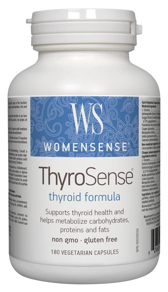 PREFERRED NATURALS ThyroSense 180Vcaps*