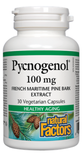 NATURAL FACTORS PYCNOGENOL 100MG 30 CAPS