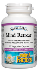 NATURAL FACTORS MIND RETREAT 60 VCAPS