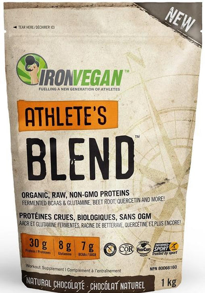 Iron Vegan Athlete's Blend Chocolate 1kg