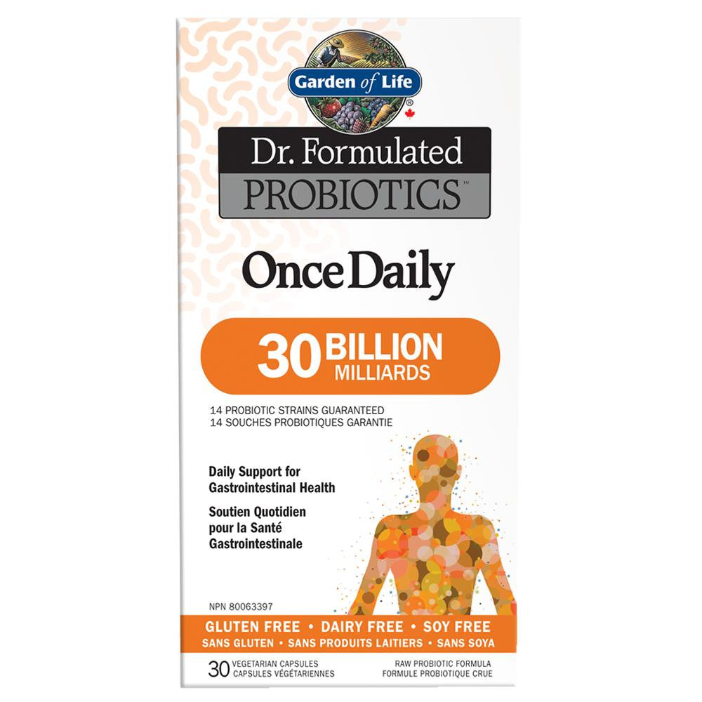 Garden of Life Dr. Formulated Probiotics 30 Billion 30Vcaps