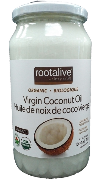 Root Alive Organic Virgin Coconut Oil 1000ml