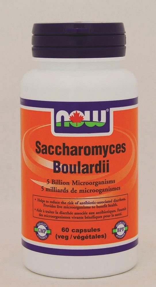 NOW Saccharomyces Boulardii 60Vcaps