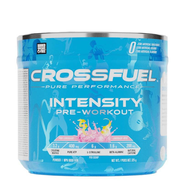 CrossFuel Intensity Pre-Workout Fruit Punch 325g