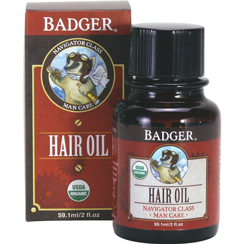 Badger Hair Oil 59.1 ml