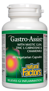 Natural Factors Gastro-Assist 60VCaps