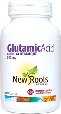 New Roots Glutamic Acid 100Vcaps