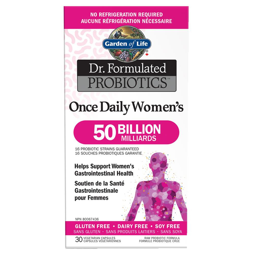 Garden of Life Dr. Formulated Womens 50 Billion 30Vcaps