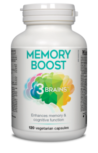 3 Brains Memory Boost 120 Vcaps