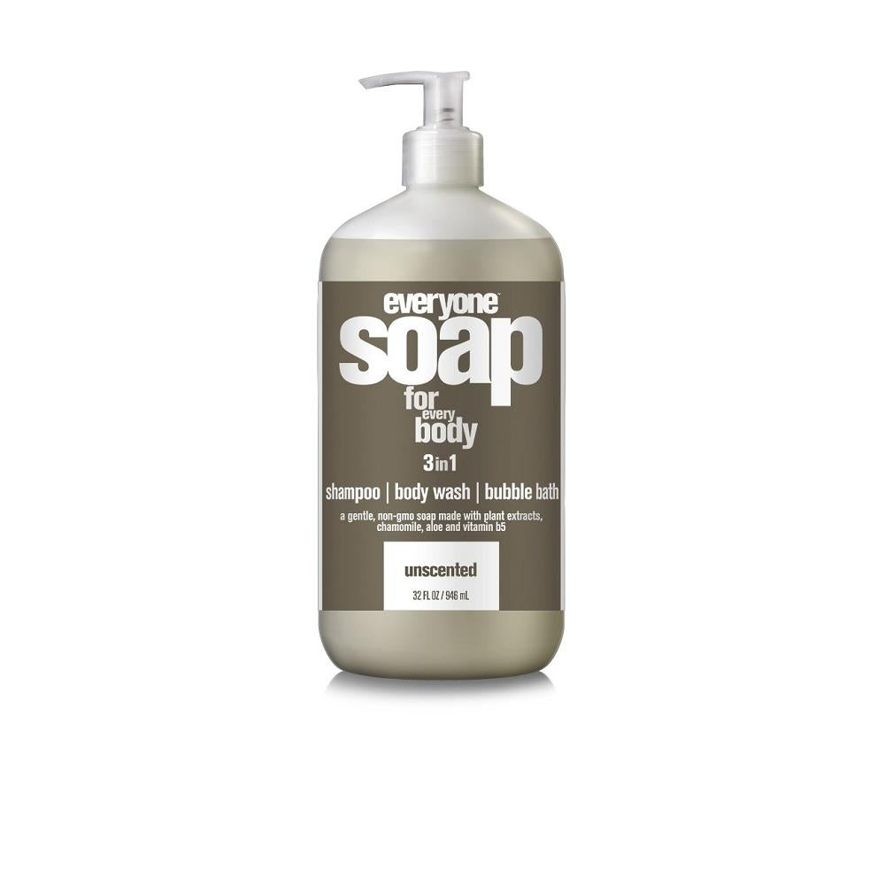 Everyone 3-In-1 Unscented Soap 946ml