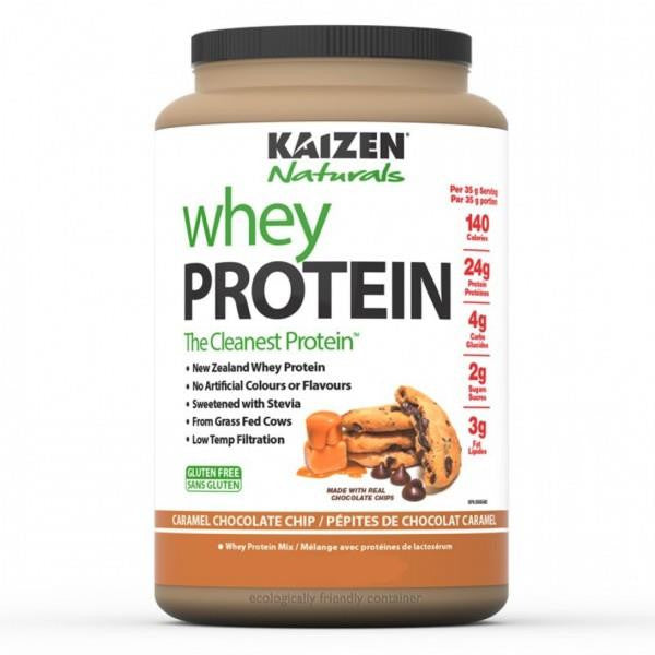 Kaizen Whey Protein Caramel Chocolate Chip 5lbs