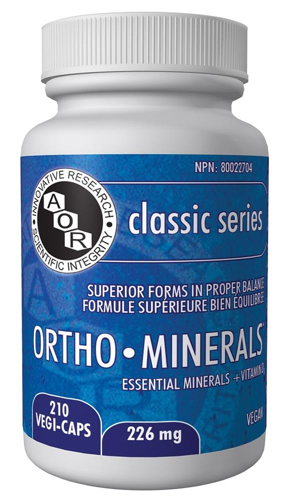 A.O.R Ortho Minerals 226mg 210Vcaps