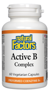 NATURAL FACTORS ACTIVE B 60VCAPS*