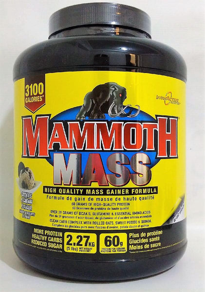 Mammoth Mass Cookies and Cream 5lbs