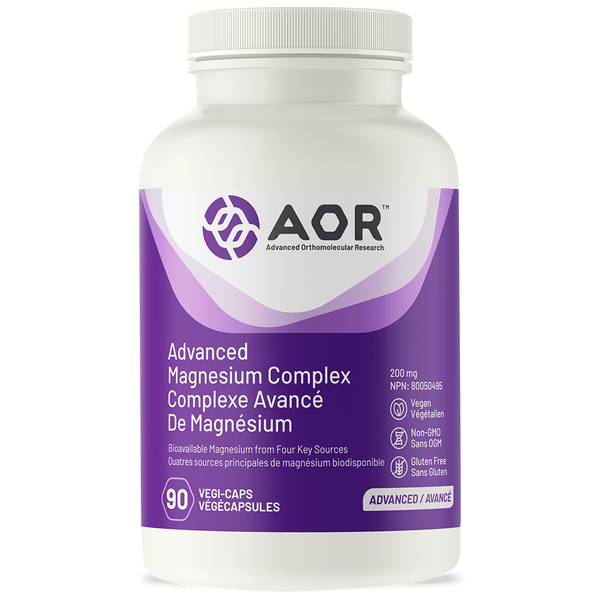 A.O.R Advanced Magnesium Complex 200mg 90Vcaps