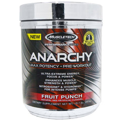 MuscleTech Anarchy Pre-Workout Fruit Punch 192g