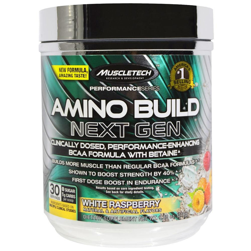MuscleTech Amino Build White Raspberrry 280g