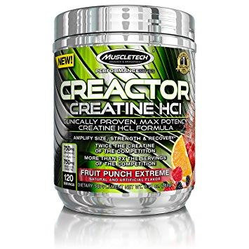 MuscleTech Creactor Fruit Punch 263g
