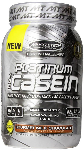 MuscleTech Platinum 100% Casein Gourmet Milk Chocolate 816g