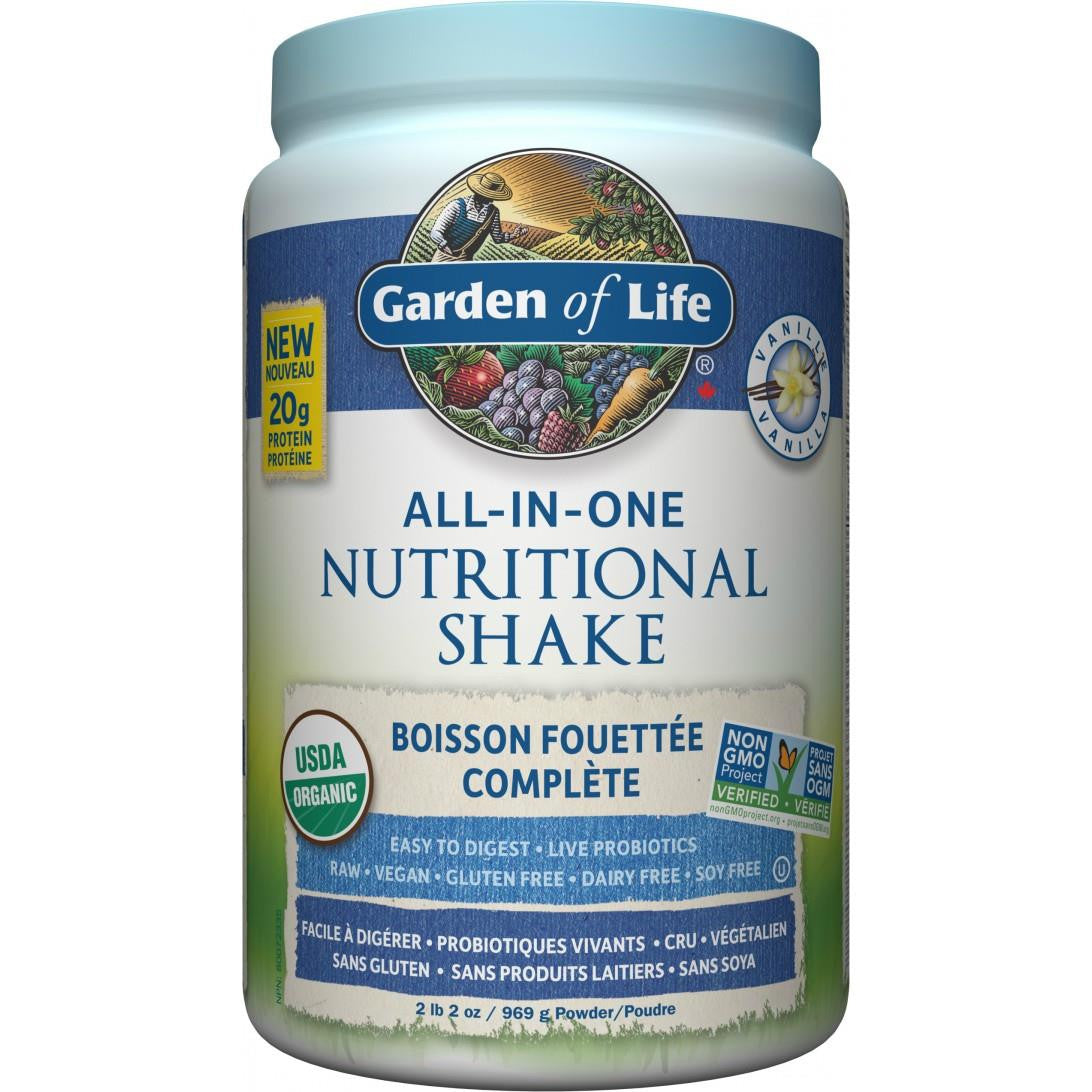 Garden of Life All-in-One Nutritional Shake 2lbs
