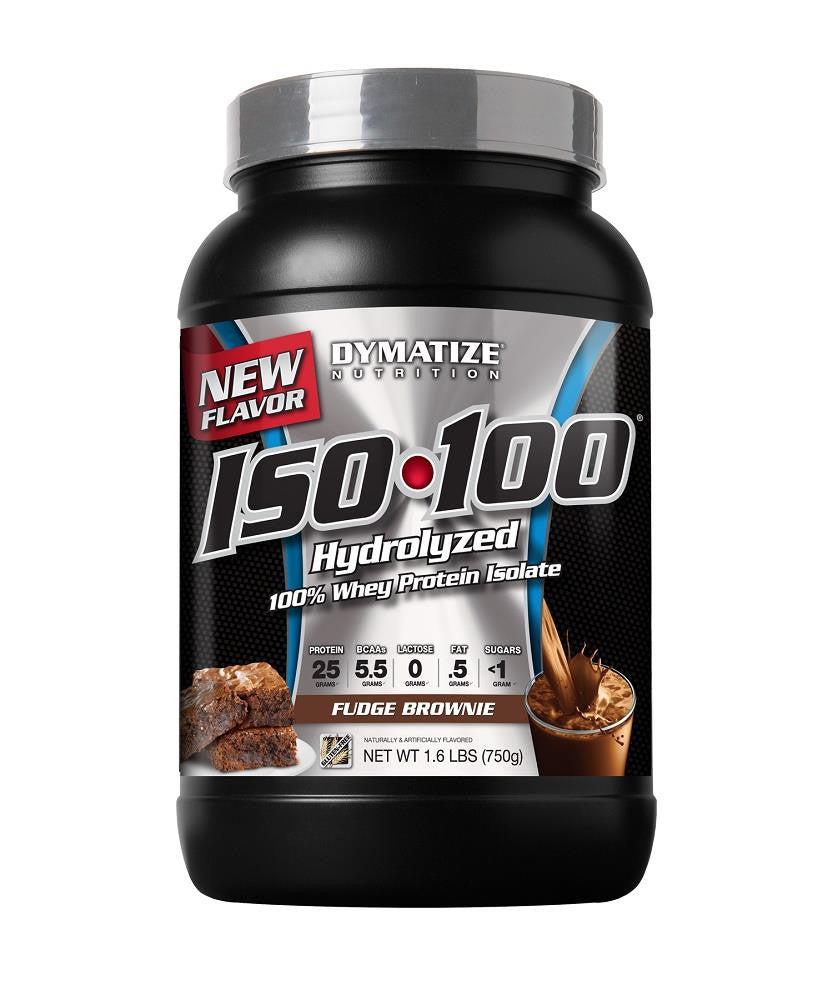 Dymatize Iso 100 Fudge Brownie 16lbs Paris Natural Foods