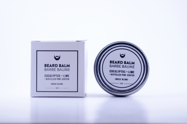 Always Bearded Beard Balm with Eucalyptus 2oz.
