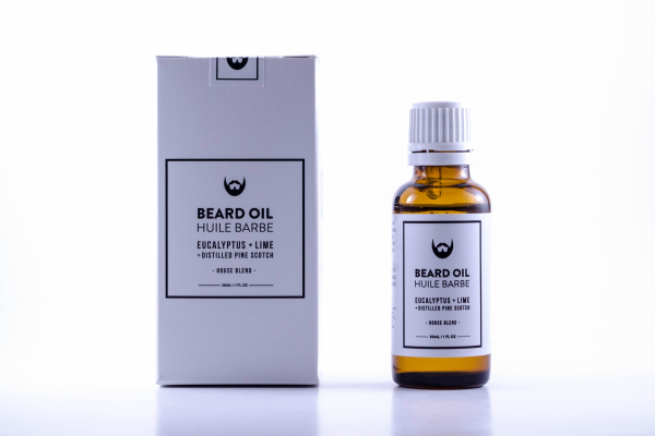 Always Bearded Beard Oil with Eucalyptus + Lime 30ml