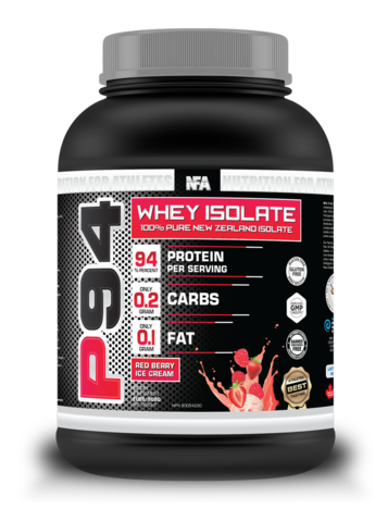 NFA P94 Whey Isolate Red Berry 2lbs