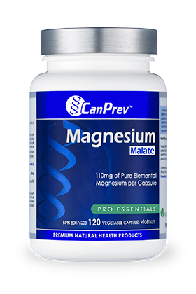 CanPrev Magnesium Malate 120Vcaps