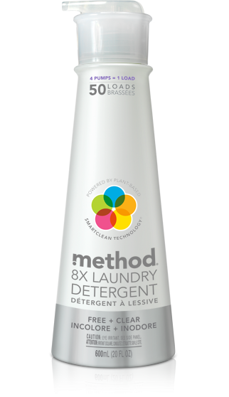 Method 8x Laundry Detergent 600ml
