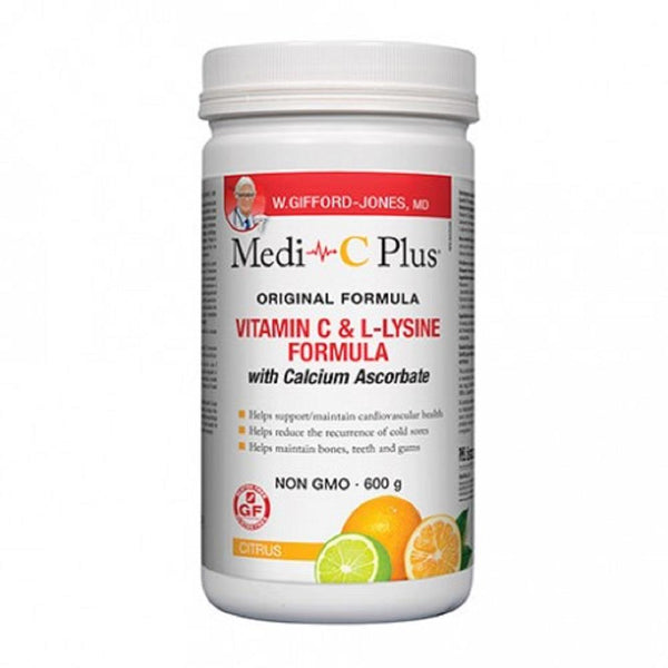 Preferred Nutrition Medi-C Plus Citrus 600g