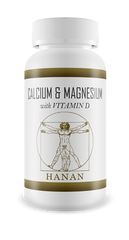 Hanan Calcium & Magnesium With Vitamin D 200 Capsules